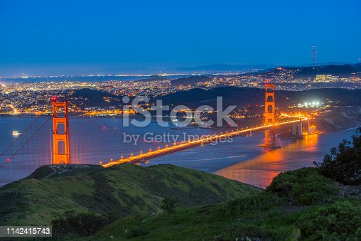 530755444 istock photo Golden Gate Strait 1142415743