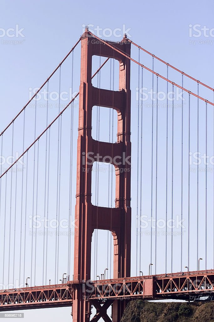 Golden Gate Tower royalty-free stock photo