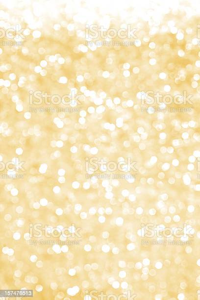 Golden Glitter Background Stock Photo - Download Image Now