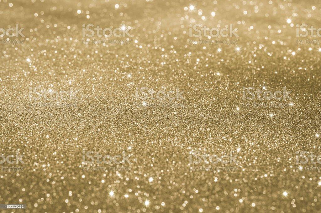 Sfondo glitter dorato. - foto stock