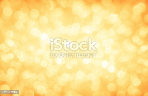 istock Golden glitter defocused lights christmas abstract background 621695966