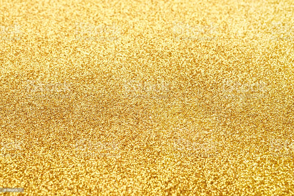 Golden glitter texture abstract background. stock photo