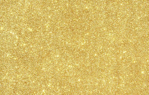 golden glitter textur hintergrund - goldpailletten stock-fotos und bilder