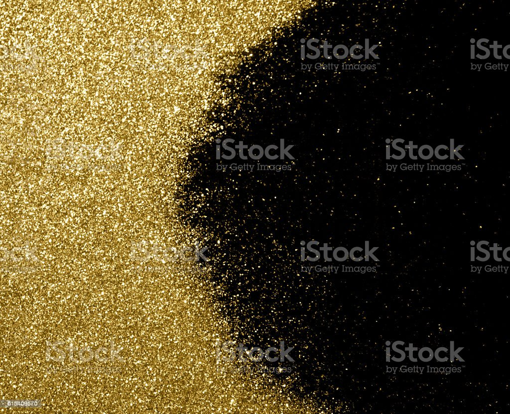 golden glitter texture christmas abstract background. stock photo
