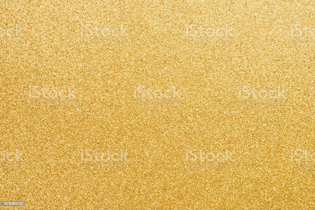 texture d'arrière-plan d'un papier scintillant or - Photo de Abstrait libre de droits