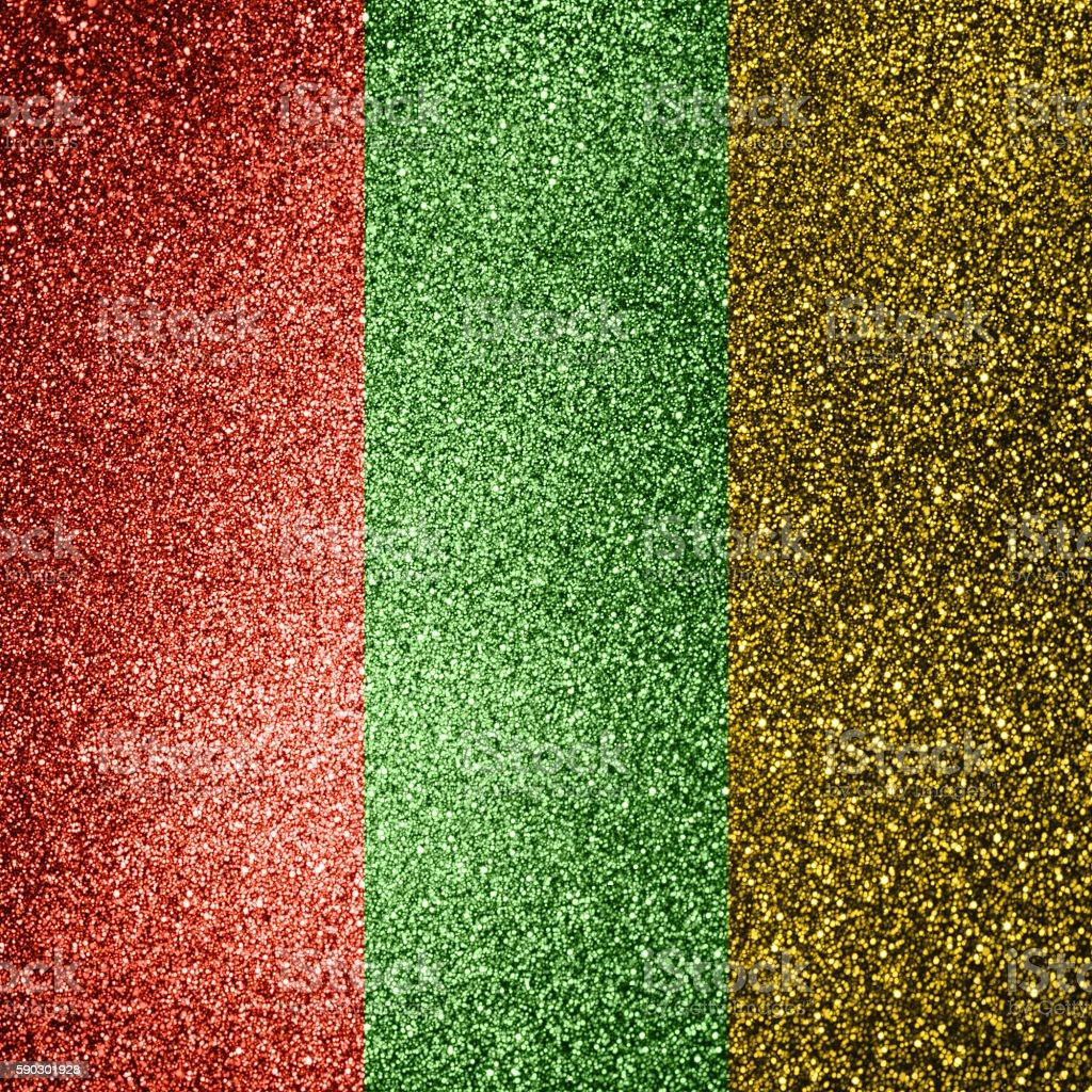 Golden glittering star Background royaltyfri bildbanksbilder