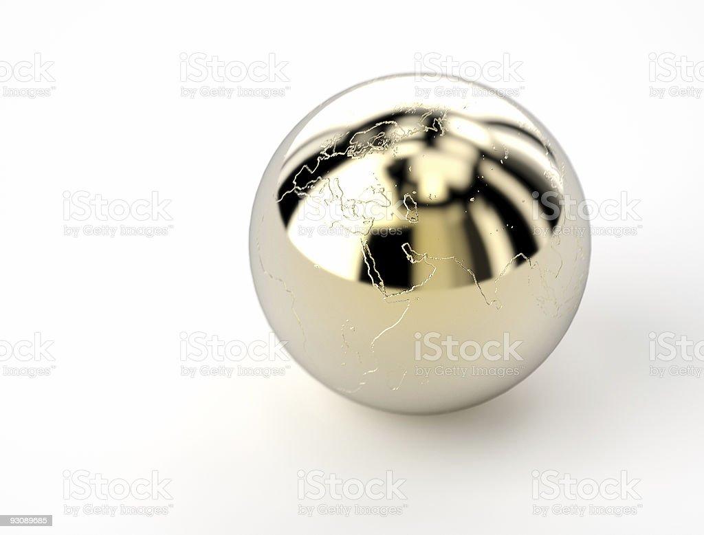 golden globe royalty-free stock photo