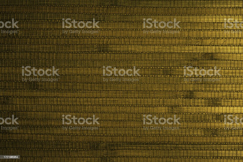 Golden green thatched surface royalty-free stock photo