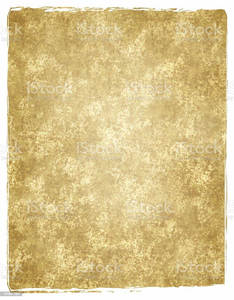 golden grunge paper royalty-free stock photo