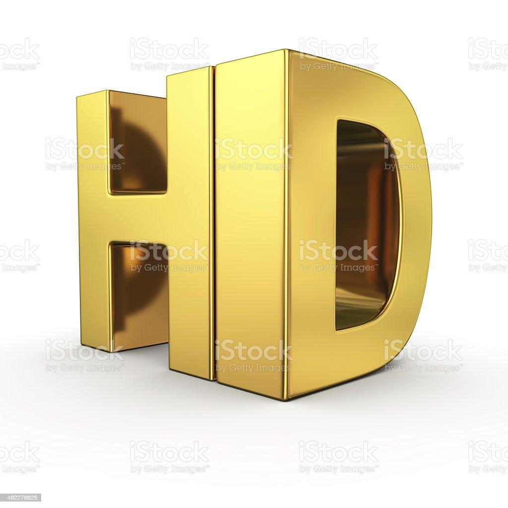 Golden HD stock photo