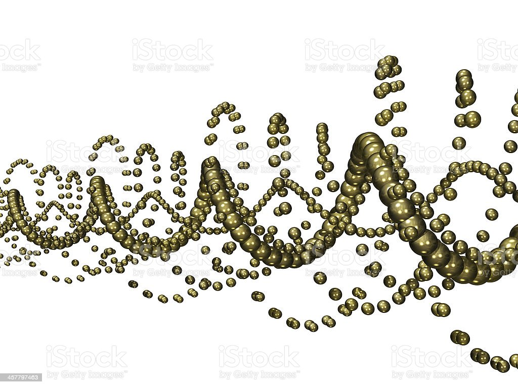 Golden Helix royalty-free stock photo