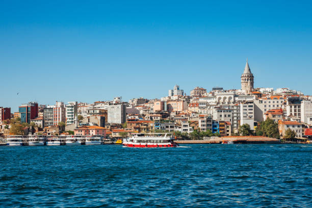 Golden Horn, Istanbul, Turkey stock photo