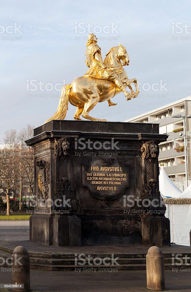 Goldener Reiter Dresden Deutschland Stockfoto Und Mehr Bilder Von