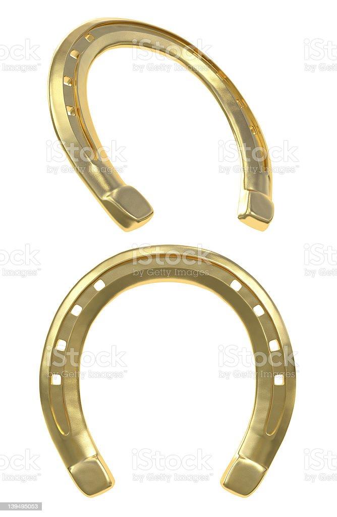 Golden Horseshoe royalty-free stock photo