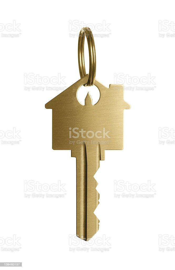 Golden clave para un sueño casa - foto de stock