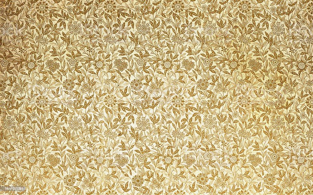 golden leaf design stock photo