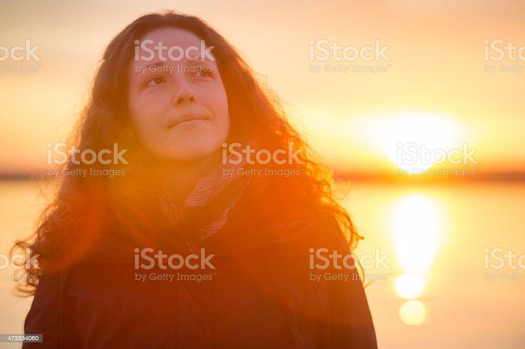 Goldenes Licht am Meer – Foto