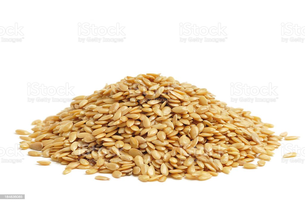 Golden Linseed royalty-free stock photo