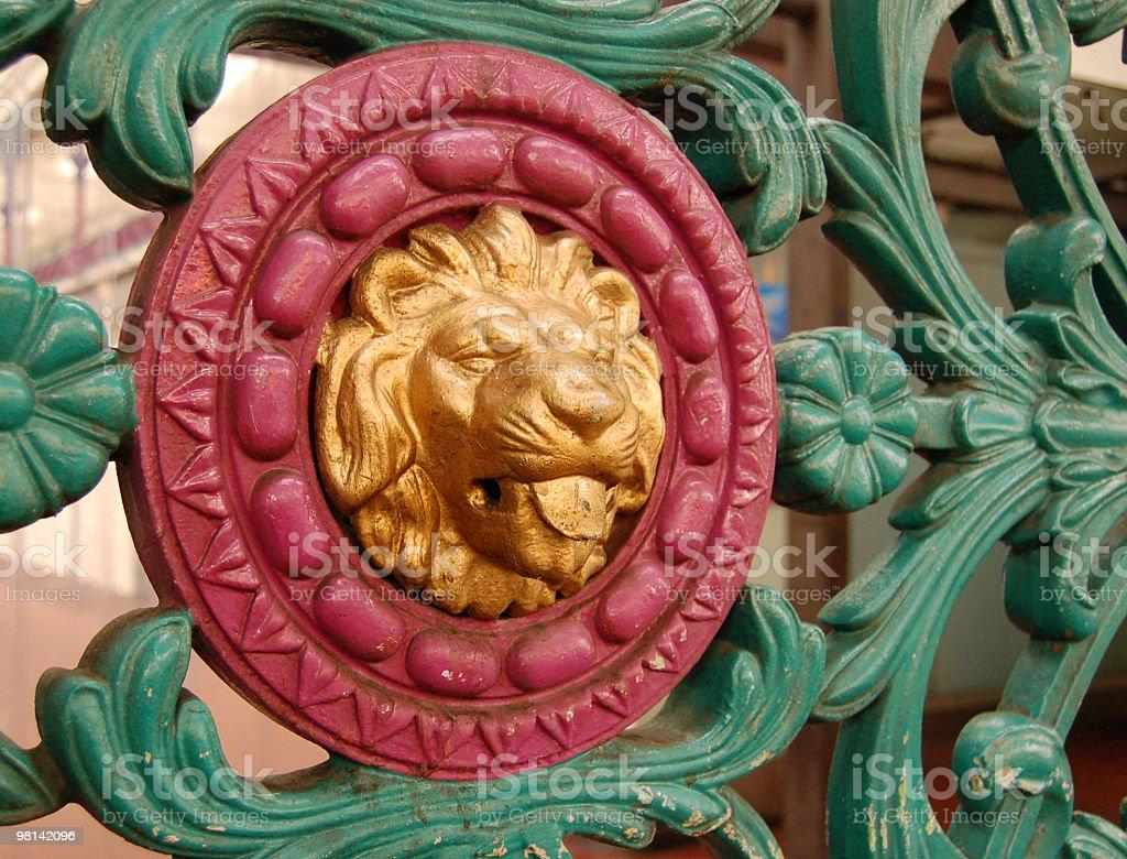 Leone d'Oro foto stock royalty-free