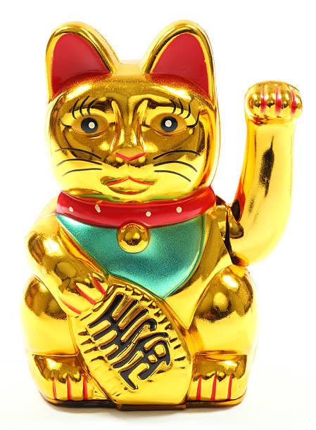 Maneki Neko glückliche Katze – Foto