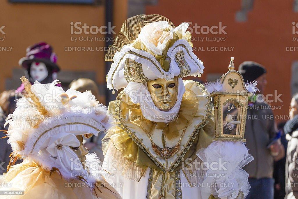 45acd9c92111 Adulto, Cappello, Cappello a tricorno, Carnevale - Festività pubblica,  Donne. Mascherina dorata con Gabbia per ...