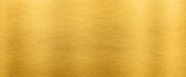 Fundo dourado da textura do metal - foto de acervo