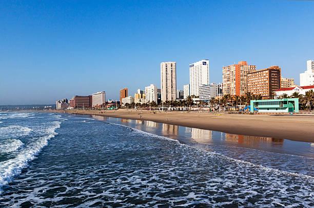 golden Mile Stadt Skyline in Durban, Südafrika – Foto