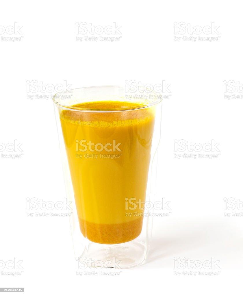 Golden Milk stock photo