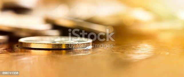 istock Golden money coin 696741338