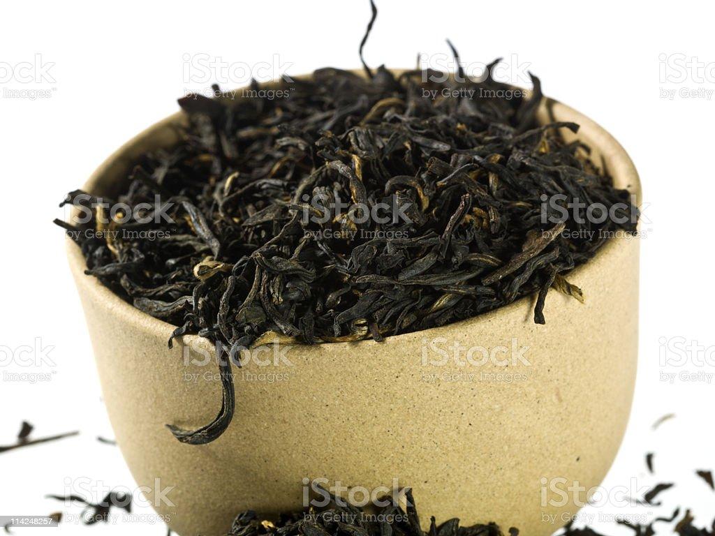 Golden Monkey Black Tea royalty-free stock photo