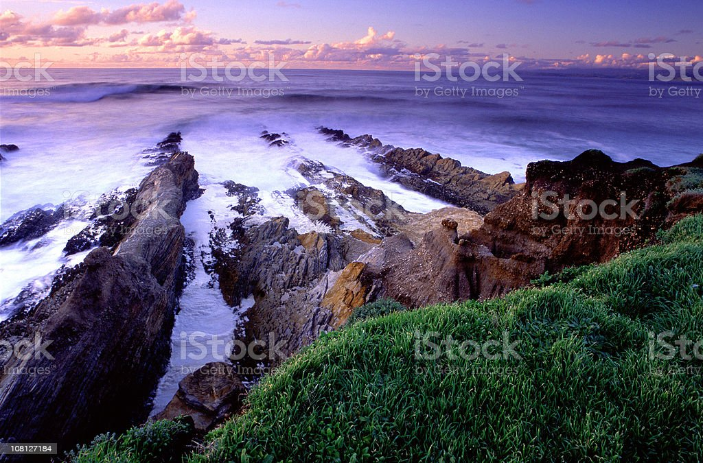 Montana de Oro Morning stock photo
