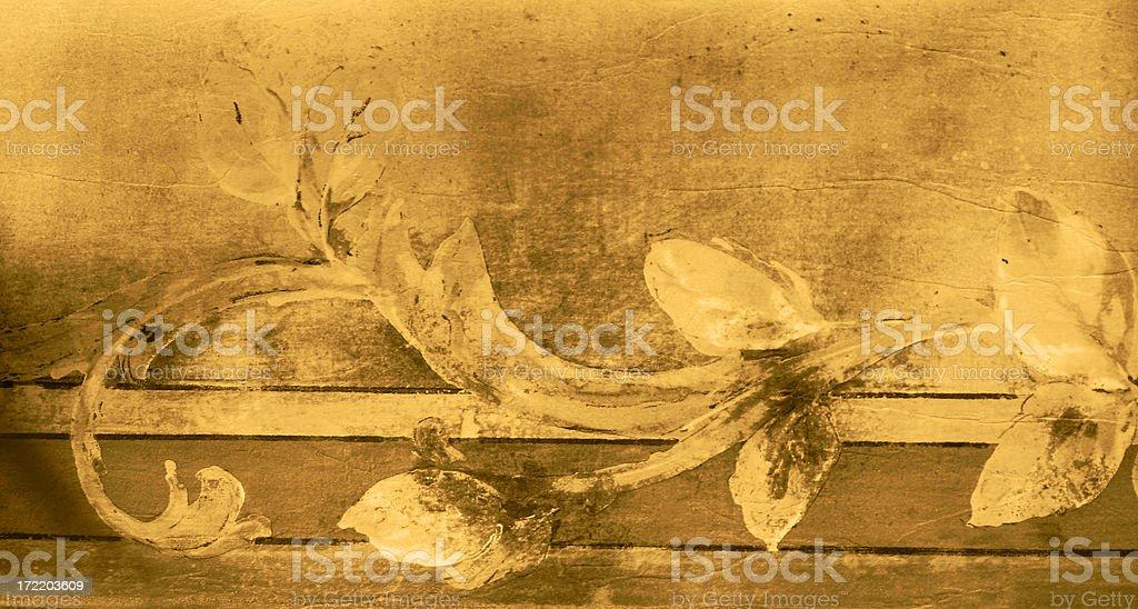 Golden Motif royalty-free stock photo