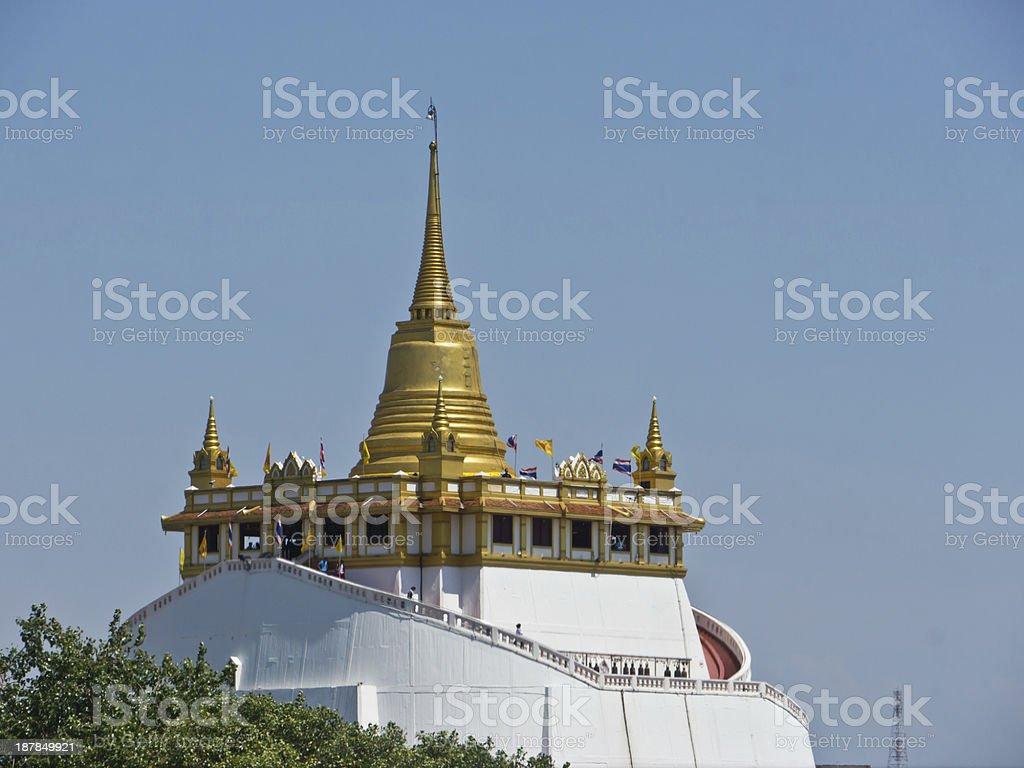 Golden mountain royalty-free stock photo