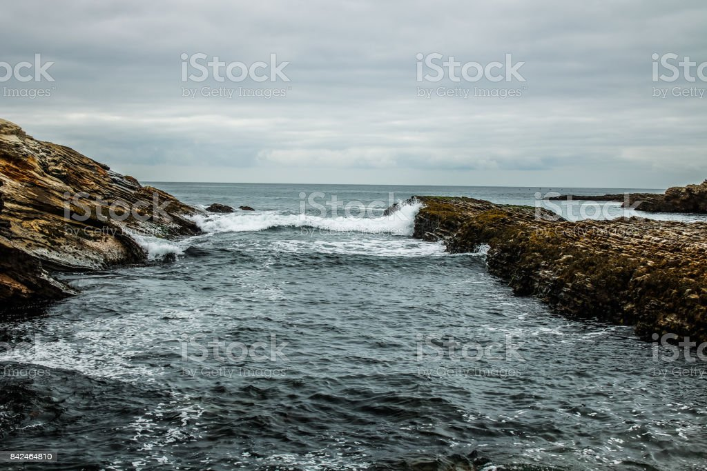 Montana de Oro stock photo