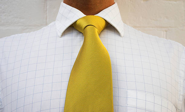 Golden neck wear stock photo