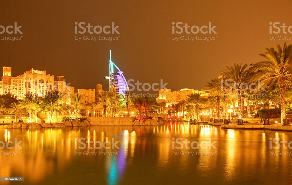 Golden Night royalty-free stock photo