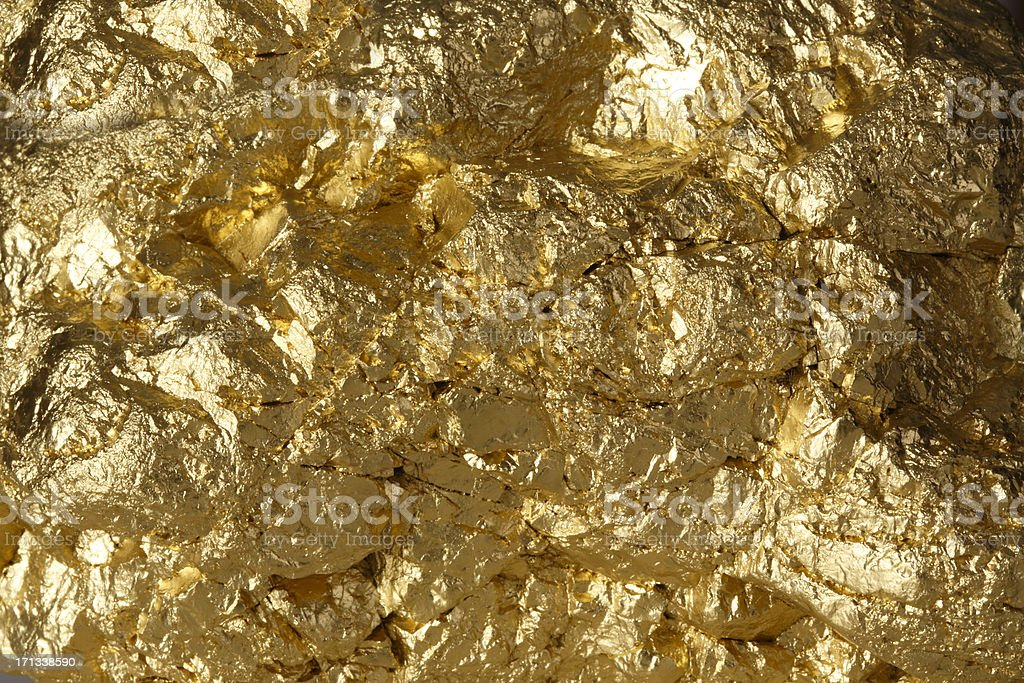 Golden Nugget royalty-free stock photo