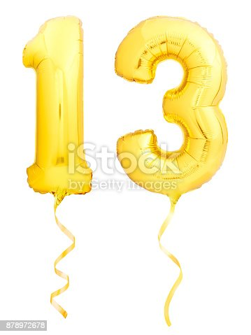927069242 istock photo Golden number 1 made of inflatable balloon 878972678