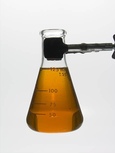 Golden Oil stock photo