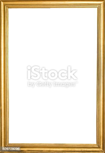 golden old frame simple design stock photo more pictures. Black Bedroom Furniture Sets. Home Design Ideas