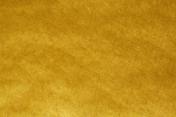 Golden paper abstract background texture ,Elegant worthy for festivals and important dates or a backdrop that requires luxury stock photo
