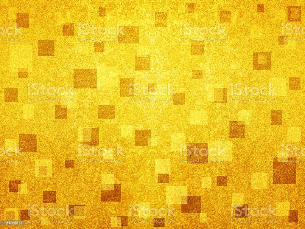 Golden paper stock photo