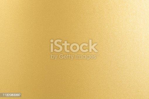 istock Golden paper texture background. 1132083397