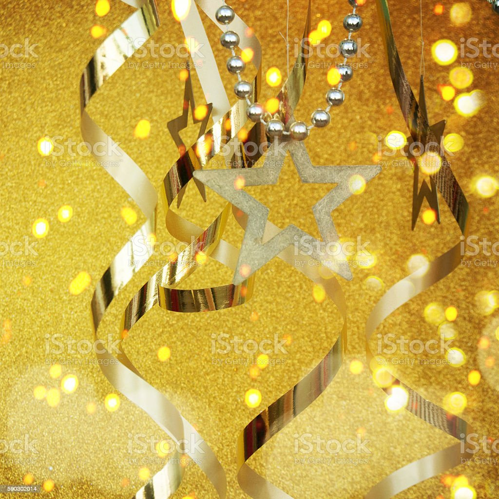 Golden Party Background royaltyfri bildbanksbilder