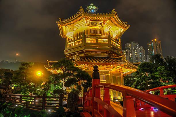golden jardim de nan lian jardim, hong kong - lian empty imagens e fotografias de stock