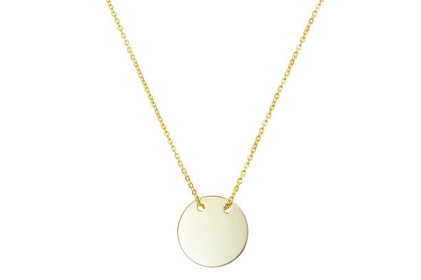 Golden pendant isolated on white Golden pendant isolated on white amulet stock pictures, royalty-free photos & images