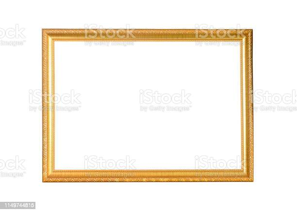 Golden picture frame isolated on white background picture id1149744815?b=1&k=6&m=1149744815&s=612x612&h=3yf0khoborbala yo07zlyyyj078bork2m auuiztlw=