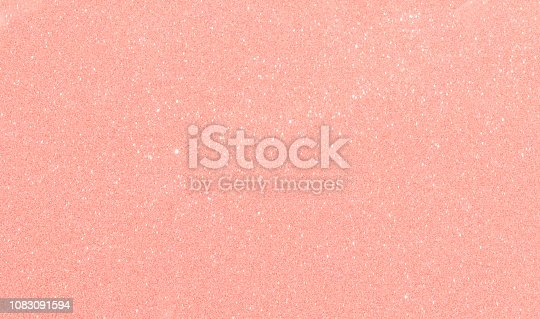 857847778 istock photo Golden  pink color abstract glitter texture background for holidays 1083091594