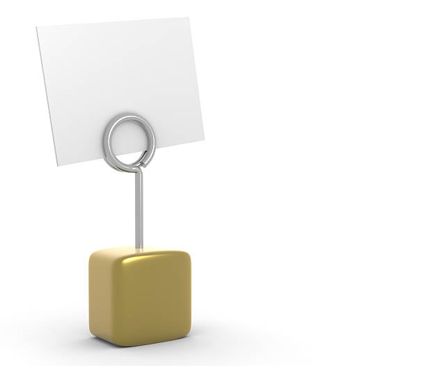 Golden post it  append stock pictures, royalty-free photos & images