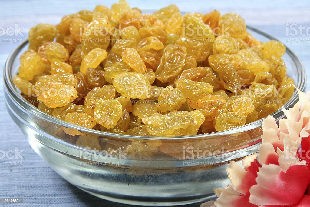 Golden Raisins royalty-free stock photo